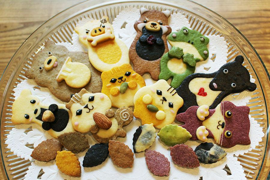 「henteco 森の洋菓子店」どうぶつクッキー