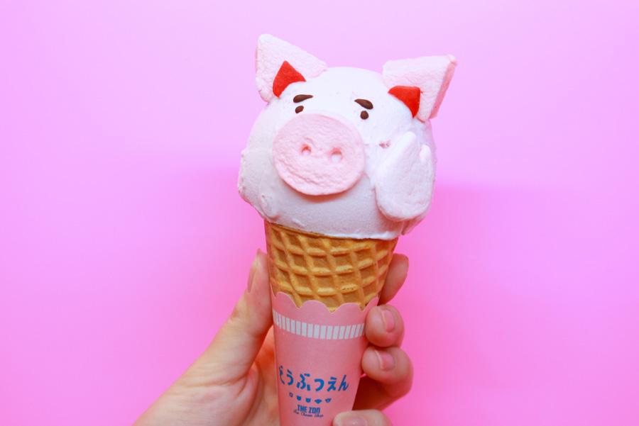 原宿電気商会どうぶつアイスクリーム