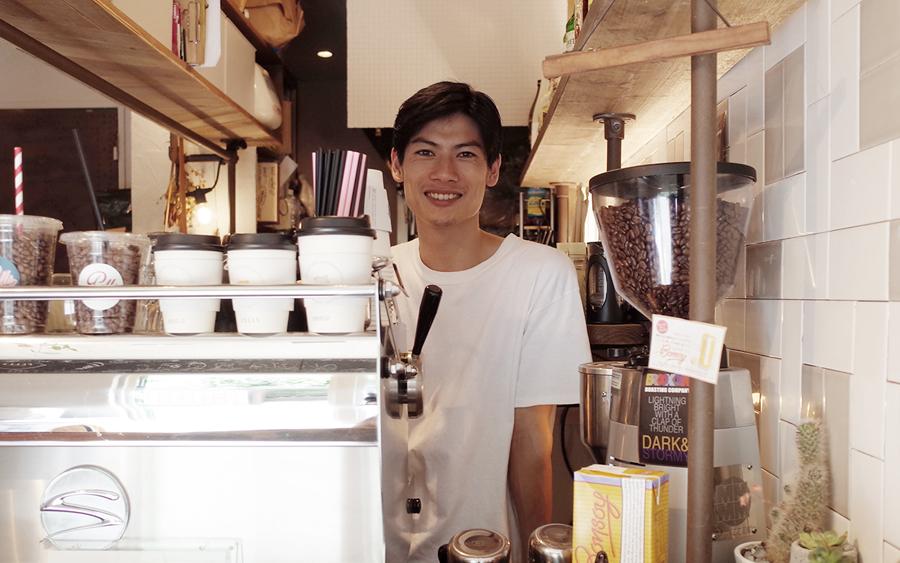 PELLS coffee &bar店長