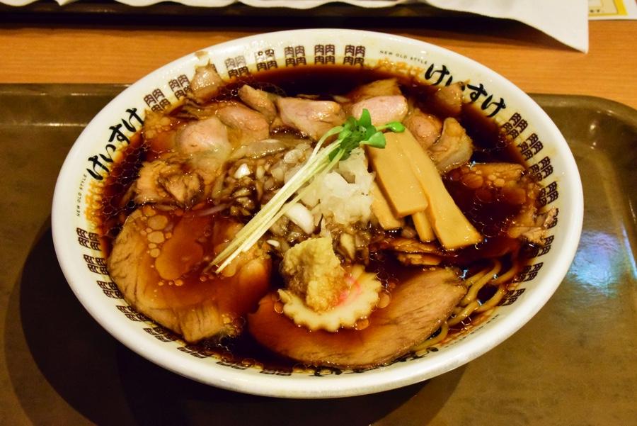 NEW OLD STYLE 肉そば けいすけ 「肉そば 醤油」(790円)