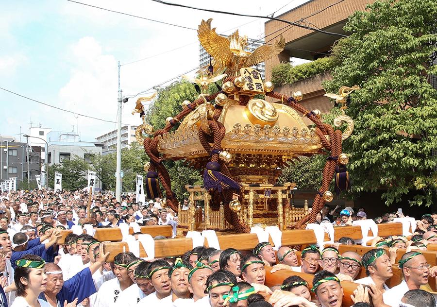 深川八幡祭り(例祭)