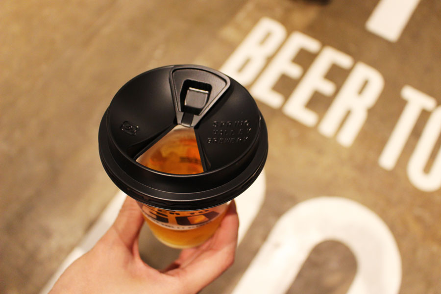 """""""BEER TO GO"""" by SPRING VALLEY BREWERY カップ"""