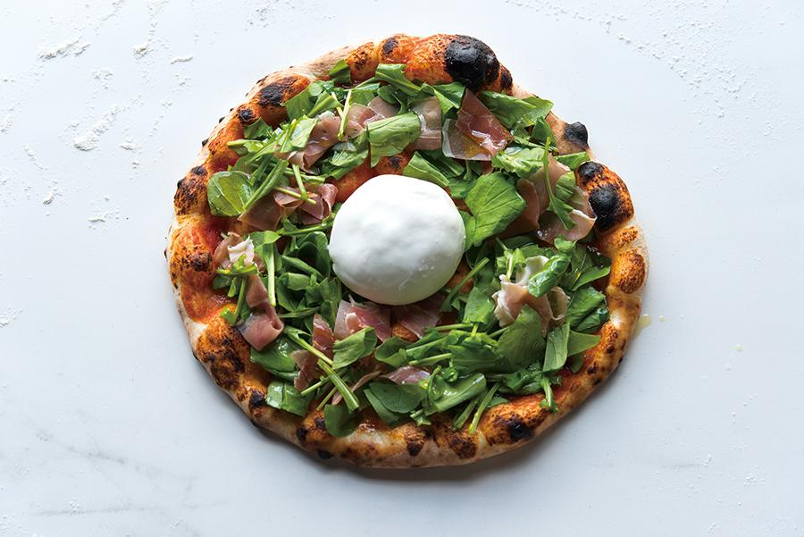 GOOD CHEESE GOOD PIZZA 「マルゲリータ・ブラータ」(2,200円/税抜)