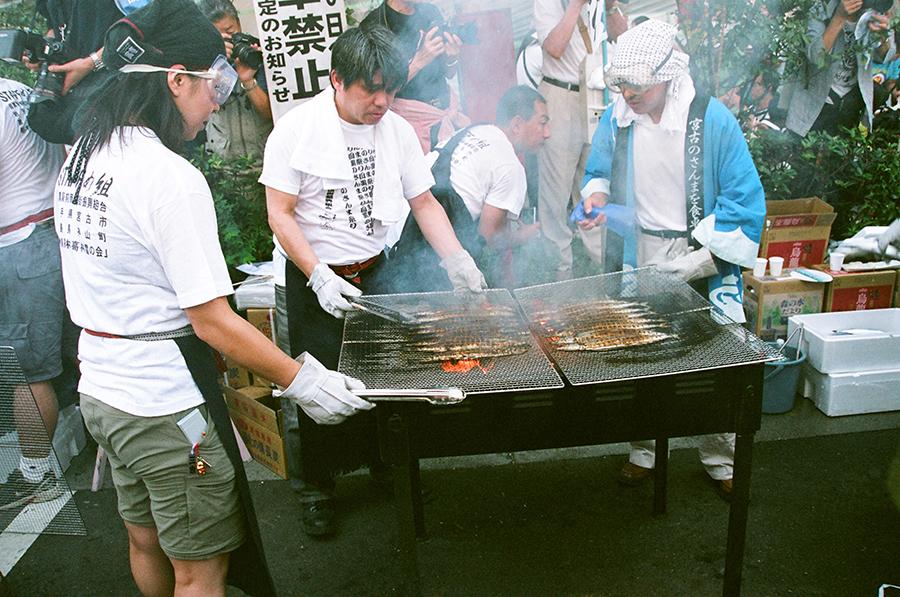 第23回 目黒のさんま祭り