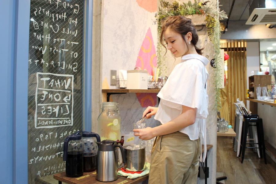 Cafe de Peruドリンクバー