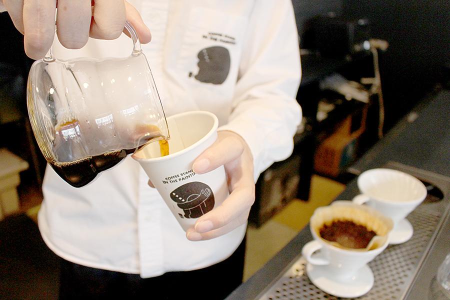 コーヒーハンドドリップ