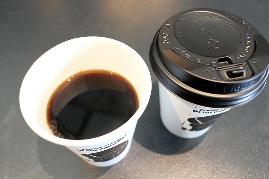 「八海山  雪室コーヒー」(450円)