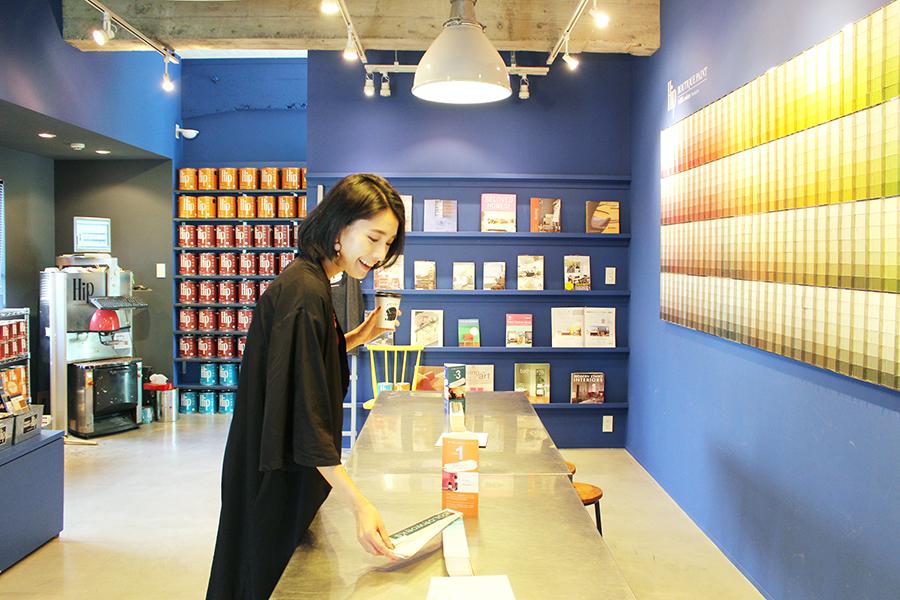 COLORWORKS  Palette Showroom 「Hip」の商品を展示