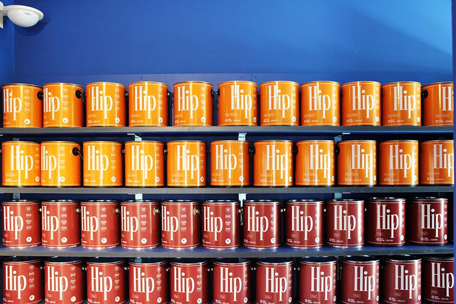 COLORWORKS  Palette Showroom 全1,488色あるカラーラインナップ