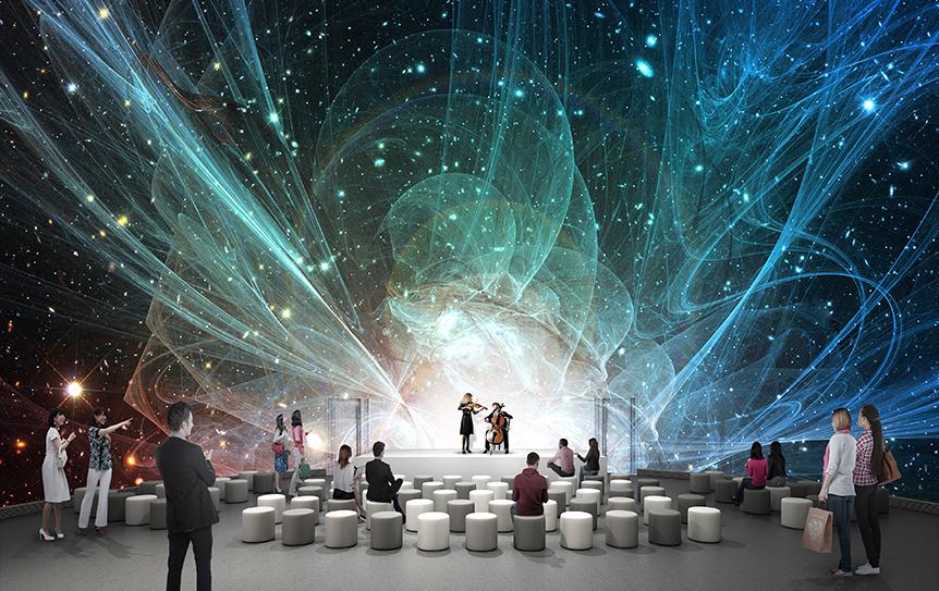 コニカミノルタプラネタリア TOKYO 「多目的デジタルドームシアター」