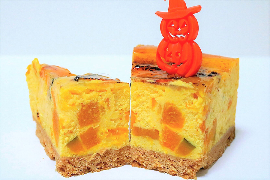 KABOCHA 「カボチャのチーズケーキ」(486円)_2