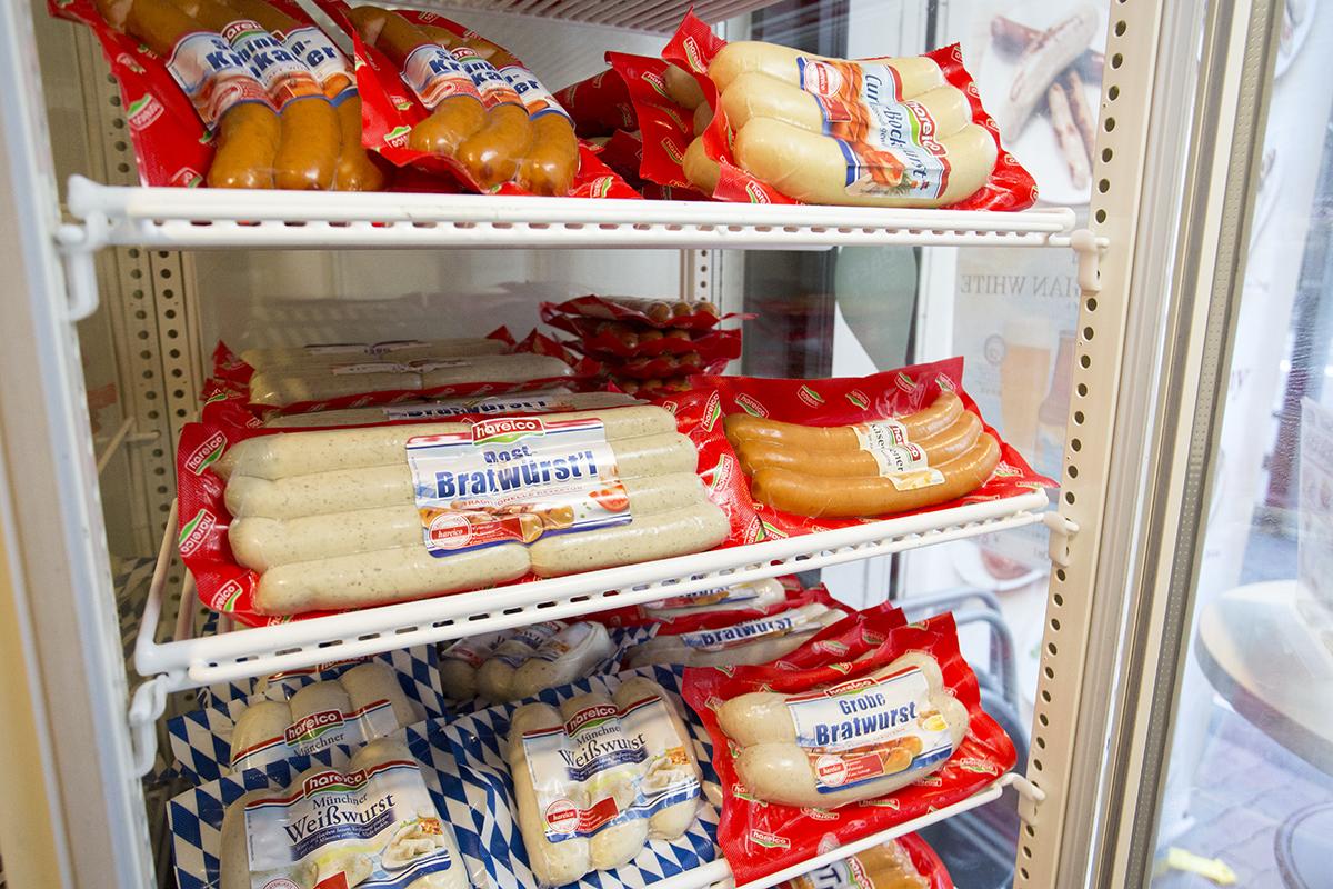 インビスハライコ 九段店 ソーセージの販売