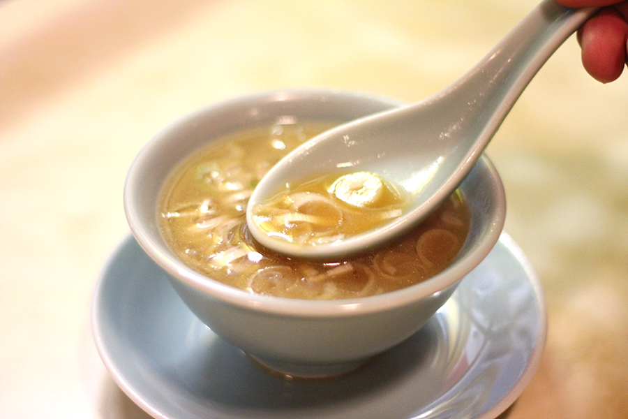 龍朋 セットのスープ