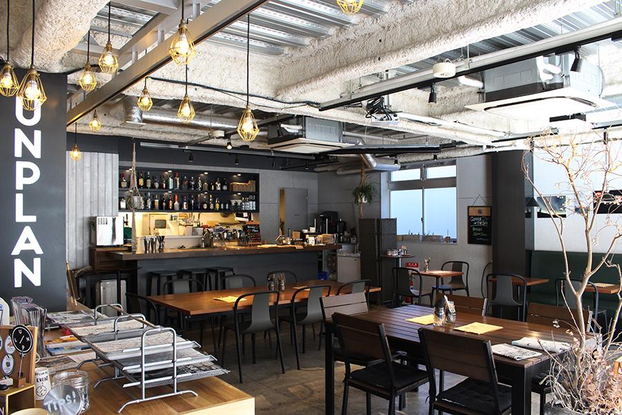 UNPLAN Kagurazaka カフェ&バー1