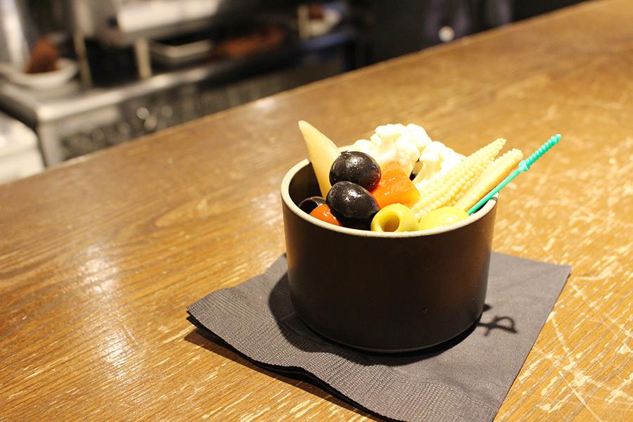 UNPLAN Kagurazaka カフェ&バー「ピクルスの盛り合わせ」(500円)
