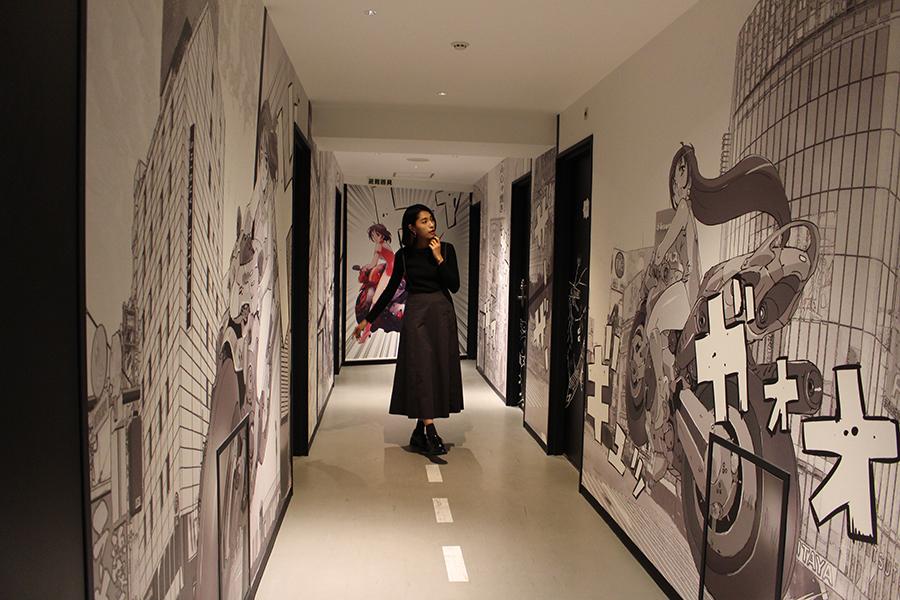 SHIBUYA HOTEL EN 2階廊下_1