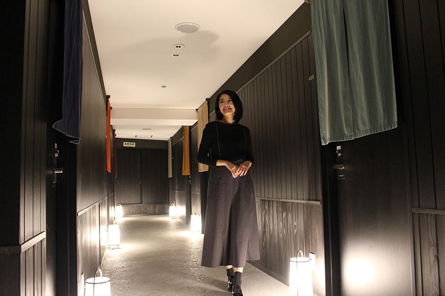 SHIBUYA HOTEL EN 4階「京町家路地」フロア