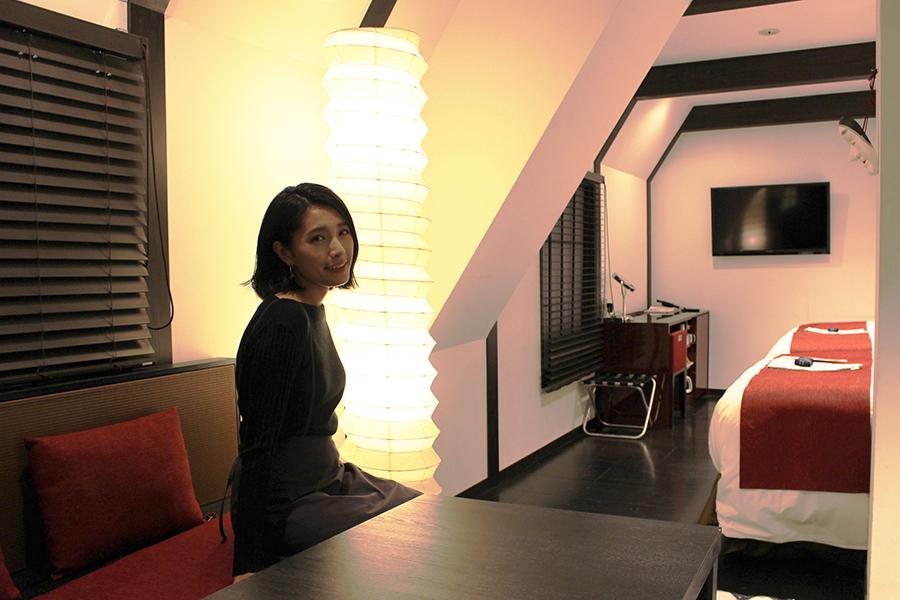 SHIBUYA HOTEL EN 「古民家」がテーマの部屋