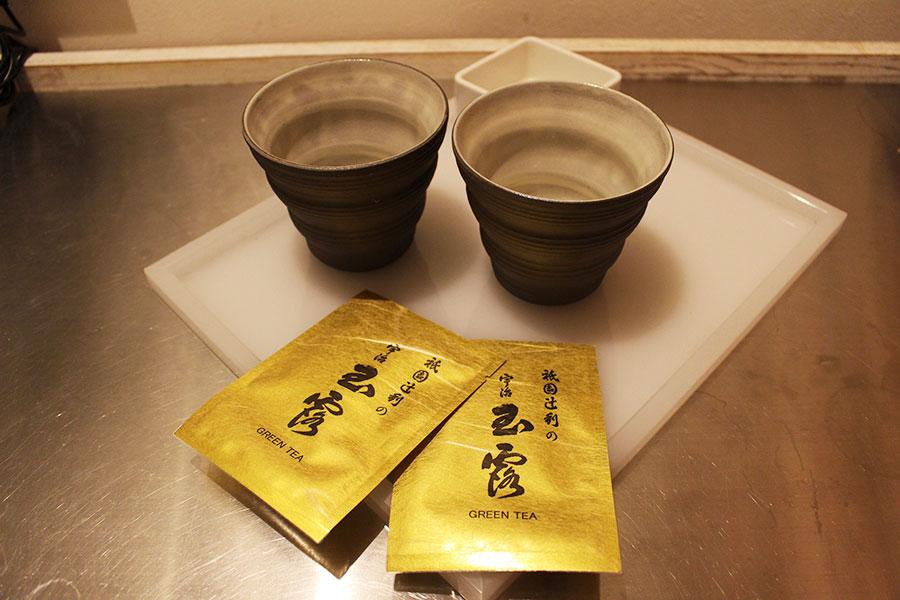 SHIBUYA HOTEL EN 「祇園辻利・宇治玉露」のお茶