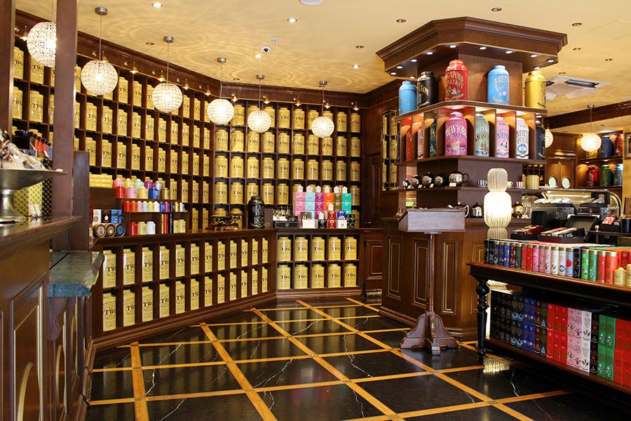 TWG Tea 店内