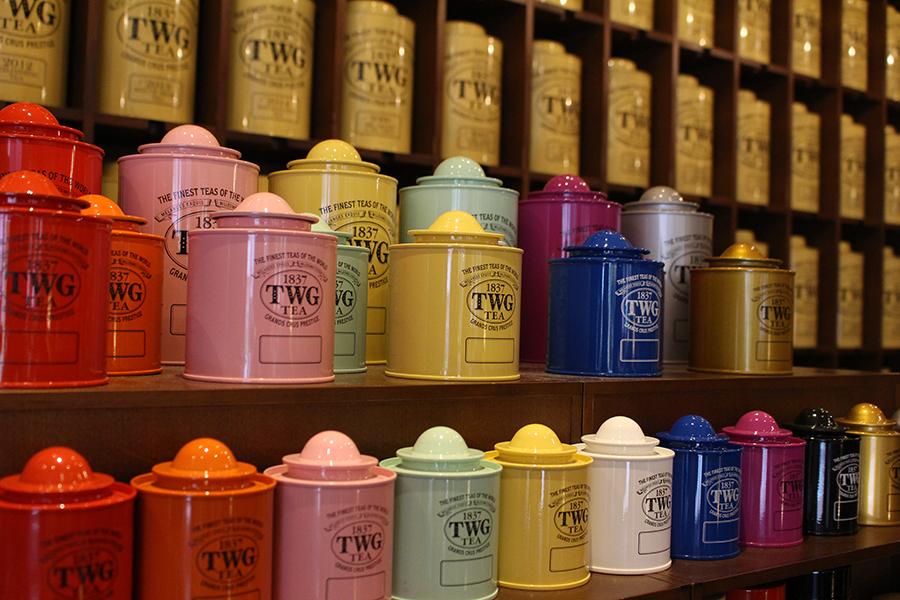 TWG Tea 物販スペース