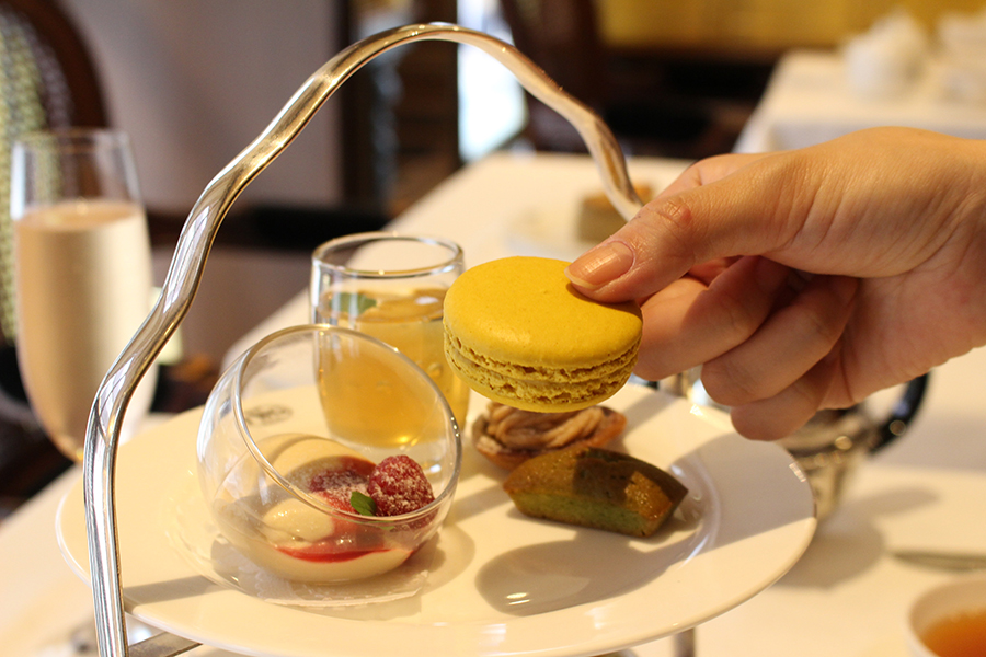 TWG Tea レモンのマカロン