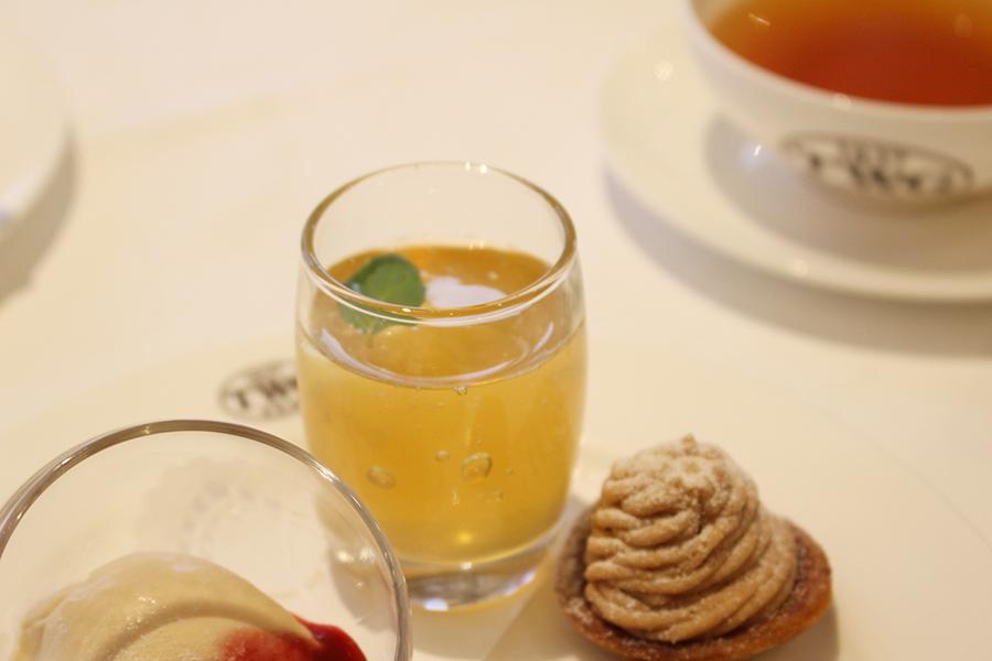 TWG Tea 「ティー&スパークリングワインジュレ」