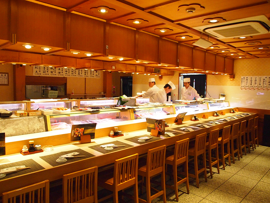 びっくり寿司 恵比寿店 店内
