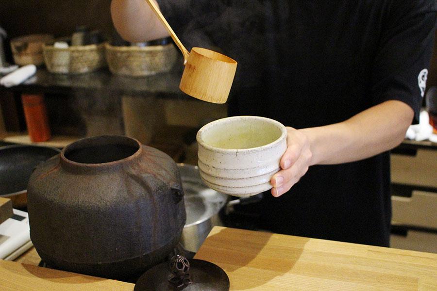 北斎茶房 宇治抹茶(550円)