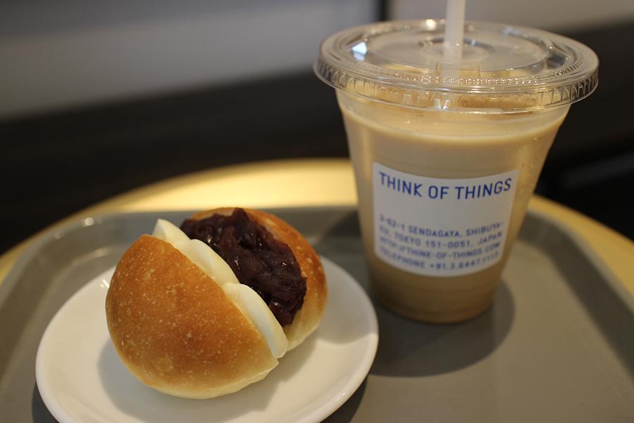 THINK OF THINGS 「あん&クリームチーズ」(250円)