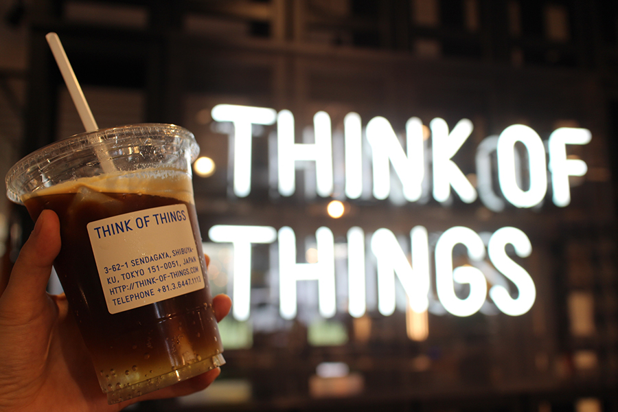 THINK OF THINGS ドリンク