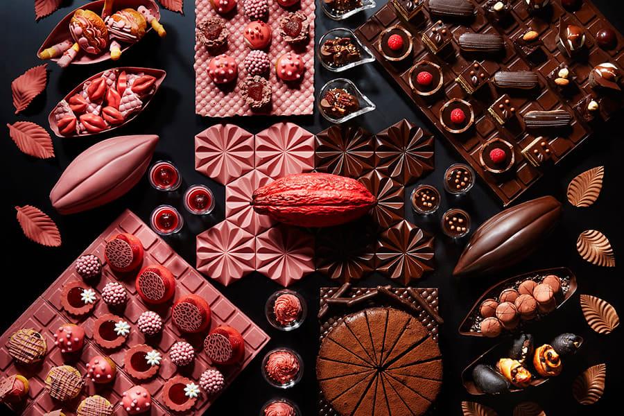 ANAインターコンチネンタルホテル東京_「チョコレート・デザートブッフェ」 1