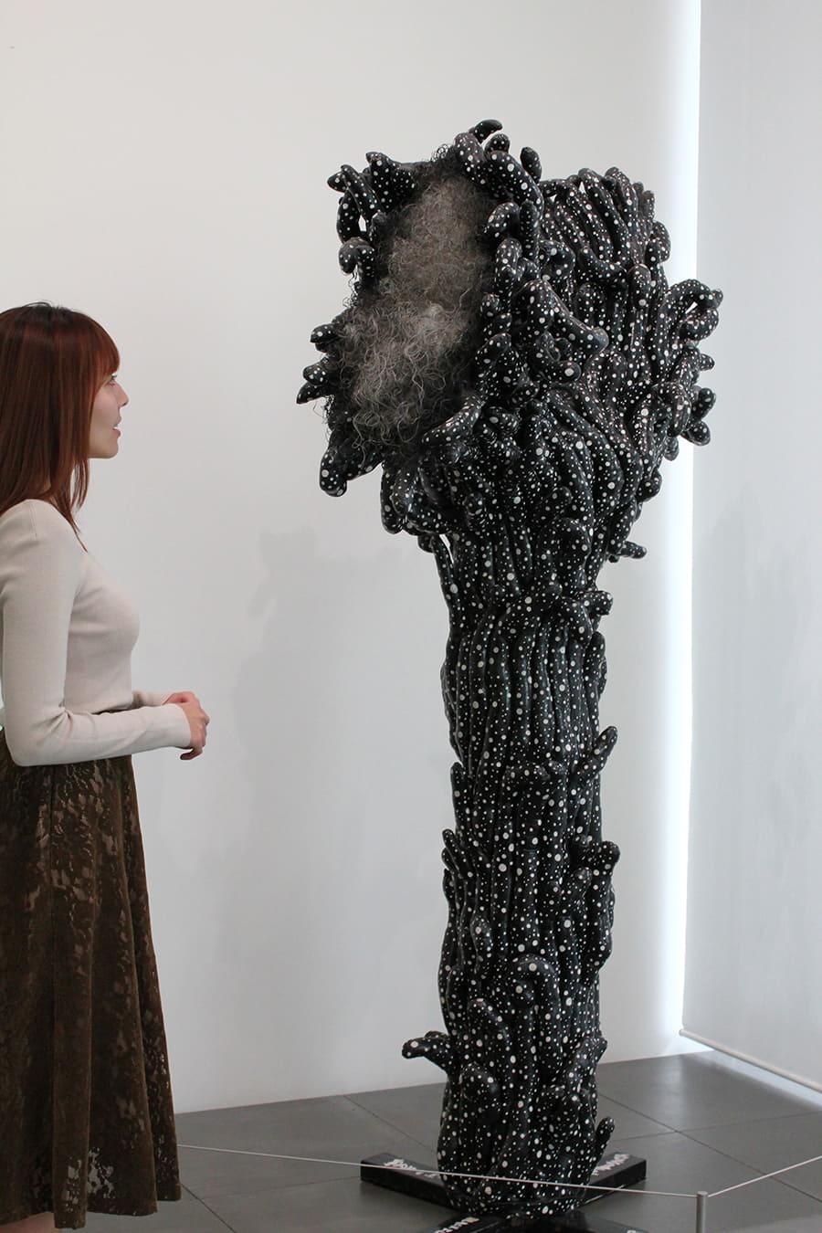 草間彌生美術館 『黒い花』