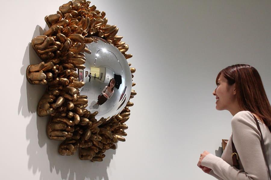 草間彌生美術館 『シャングリラの鏡』