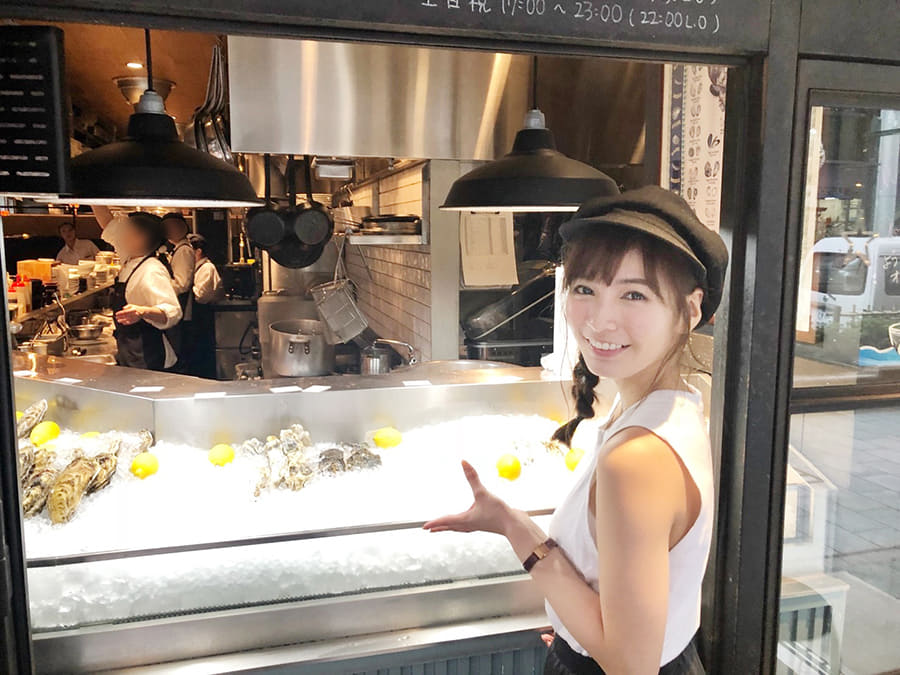 オストレア 渋谷店 カキ