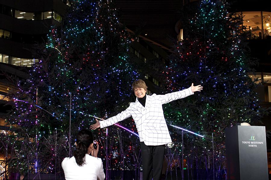 東京ミッドタウン日比谷点灯式