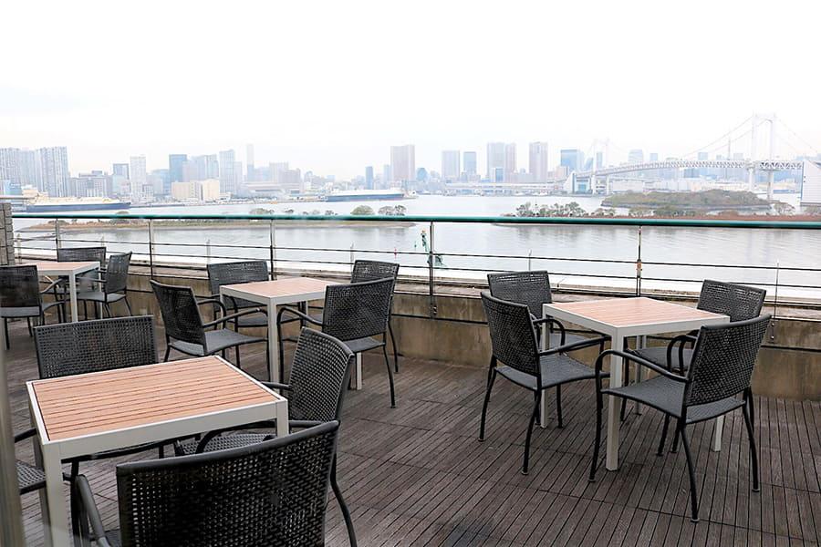 NORTHSHORE CAFÉ & DAINING アクアシティお台場店 テラス席