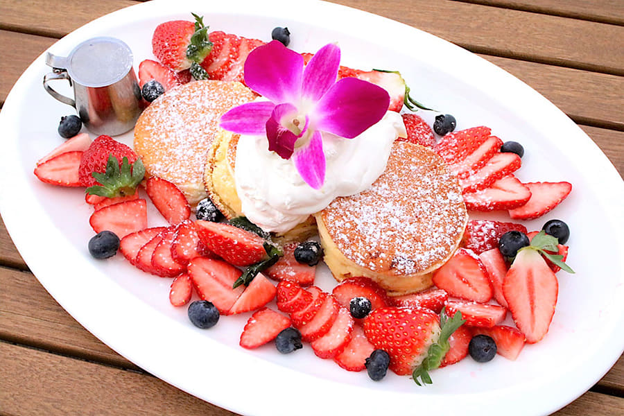 NORTHSHORE CAFÉ & DAINING アクアシティお台場店 「パンケーキ ベリーベリー」