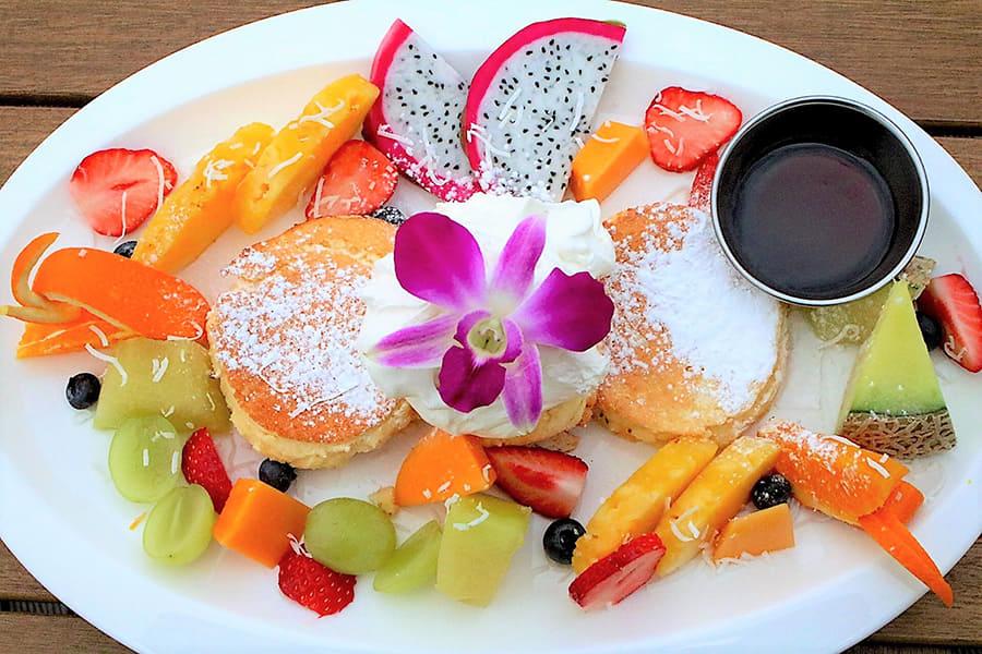 NORTHSHORE CAFÉ & DAINING アクアシティお台場店 「パンケーキ トロピカル」
