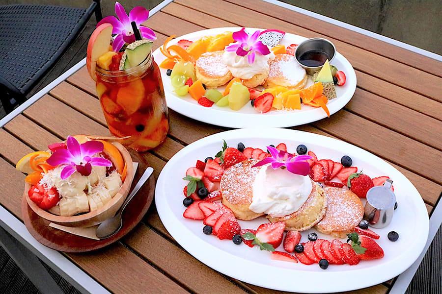 NORTHSHORE CAFÉ & DAINING アクアシティお台場店 パンケーキ