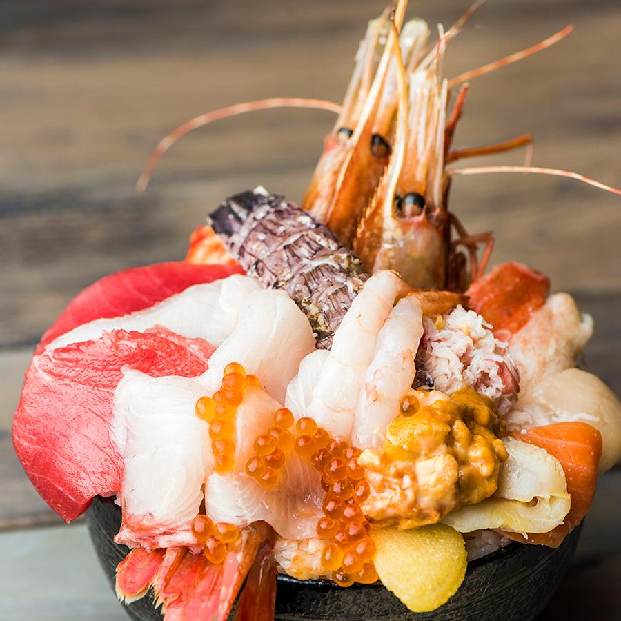 松坂屋上野店 北海道物産展 年末豪華海鮮丼