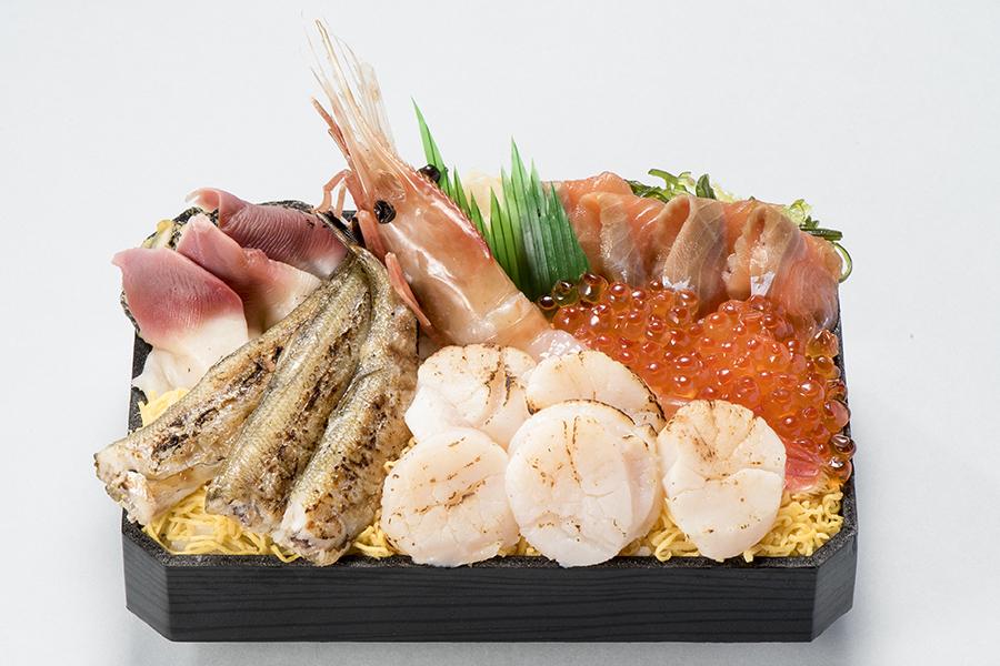 松坂屋上野店 北海道物産展 胆振のししゃもとホッキを使用した道産海鮮弁当