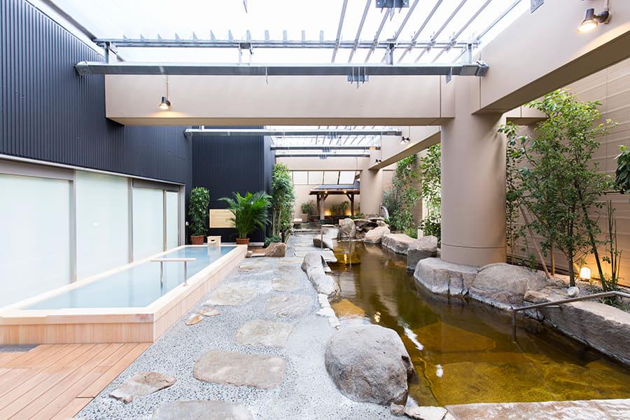 東京ドーム天然温泉Spa LaQua