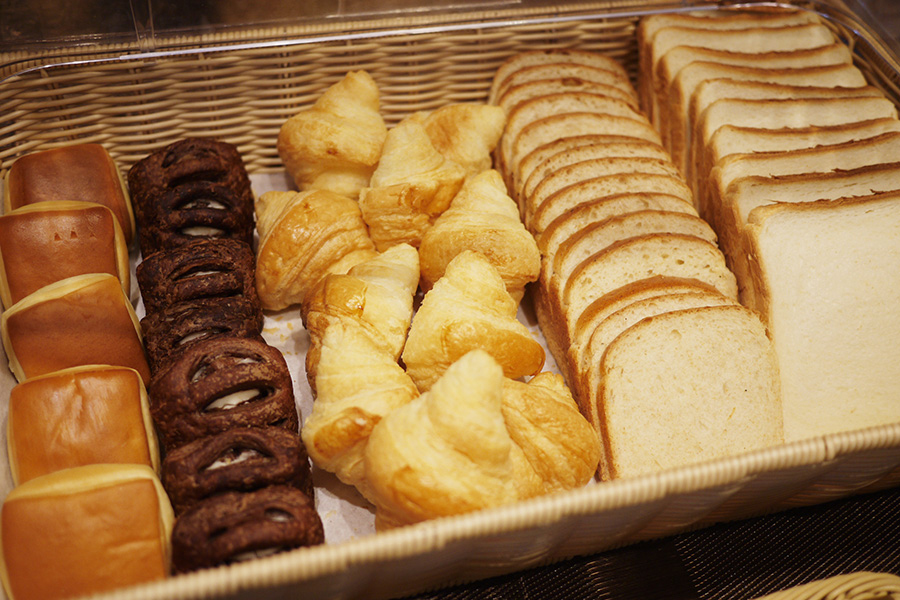 @Lobby cafe パン