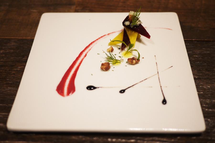 @Lobby cafe 「赤ビーツと黄ビーツのマリネ」_1
