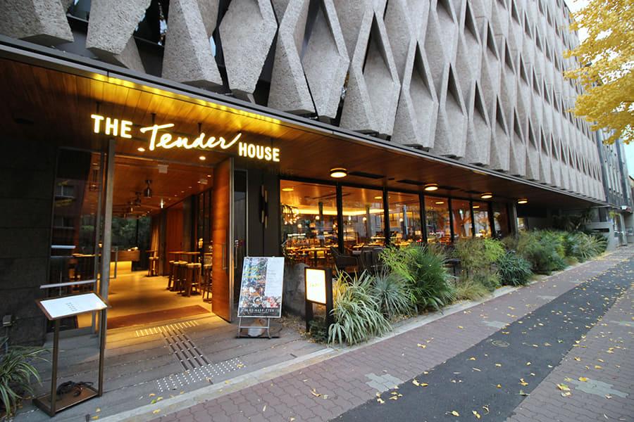 THE Tender HOUSE DINING 外観