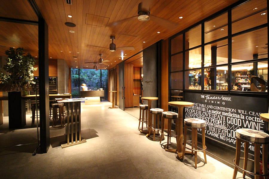 THE Tender HOUSE DINING 内観