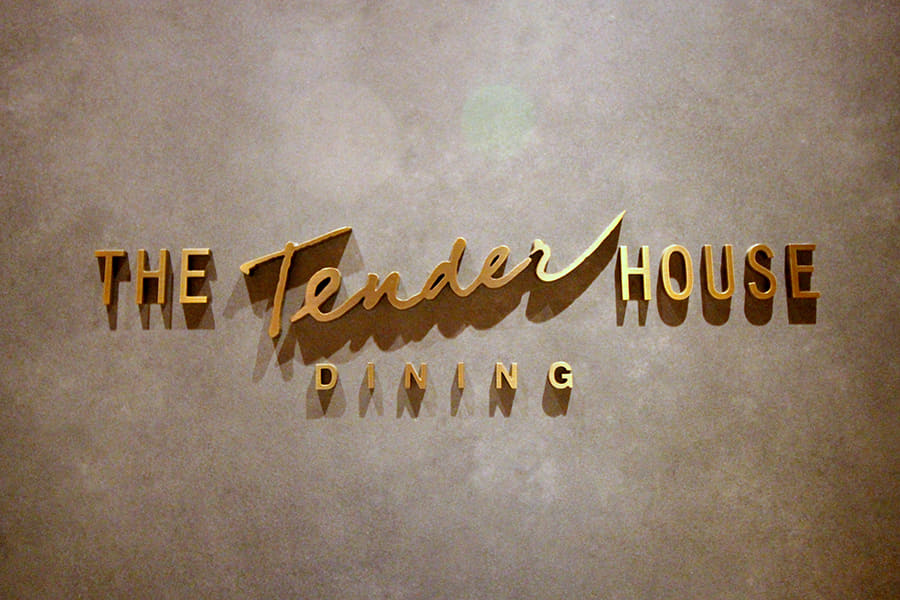 THE Tender HOUSE DINING 店名