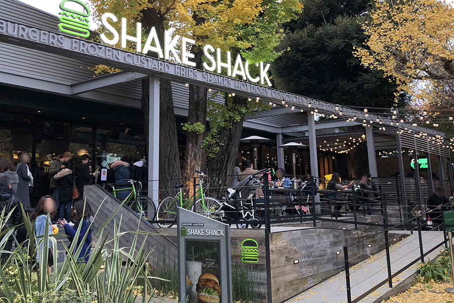 Shake Shack 外苑いちょう並木店_外観