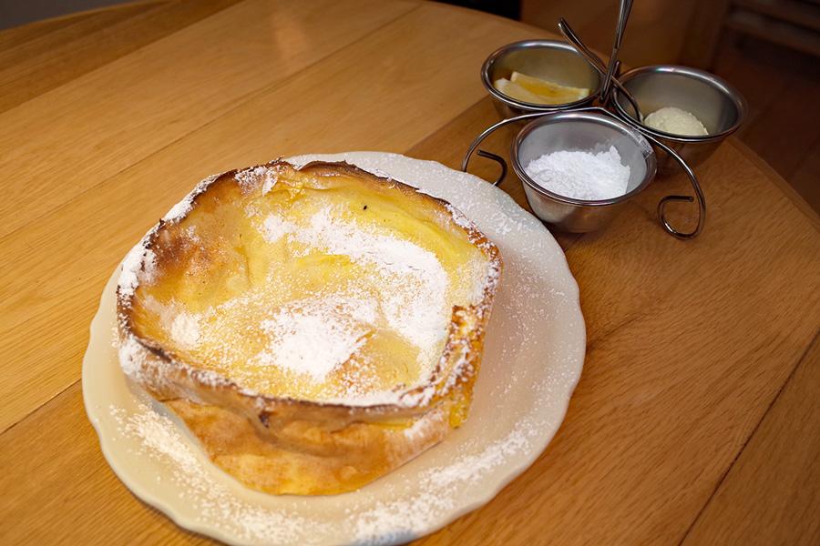 オリジナルパンケーキハウスダッチベイビー